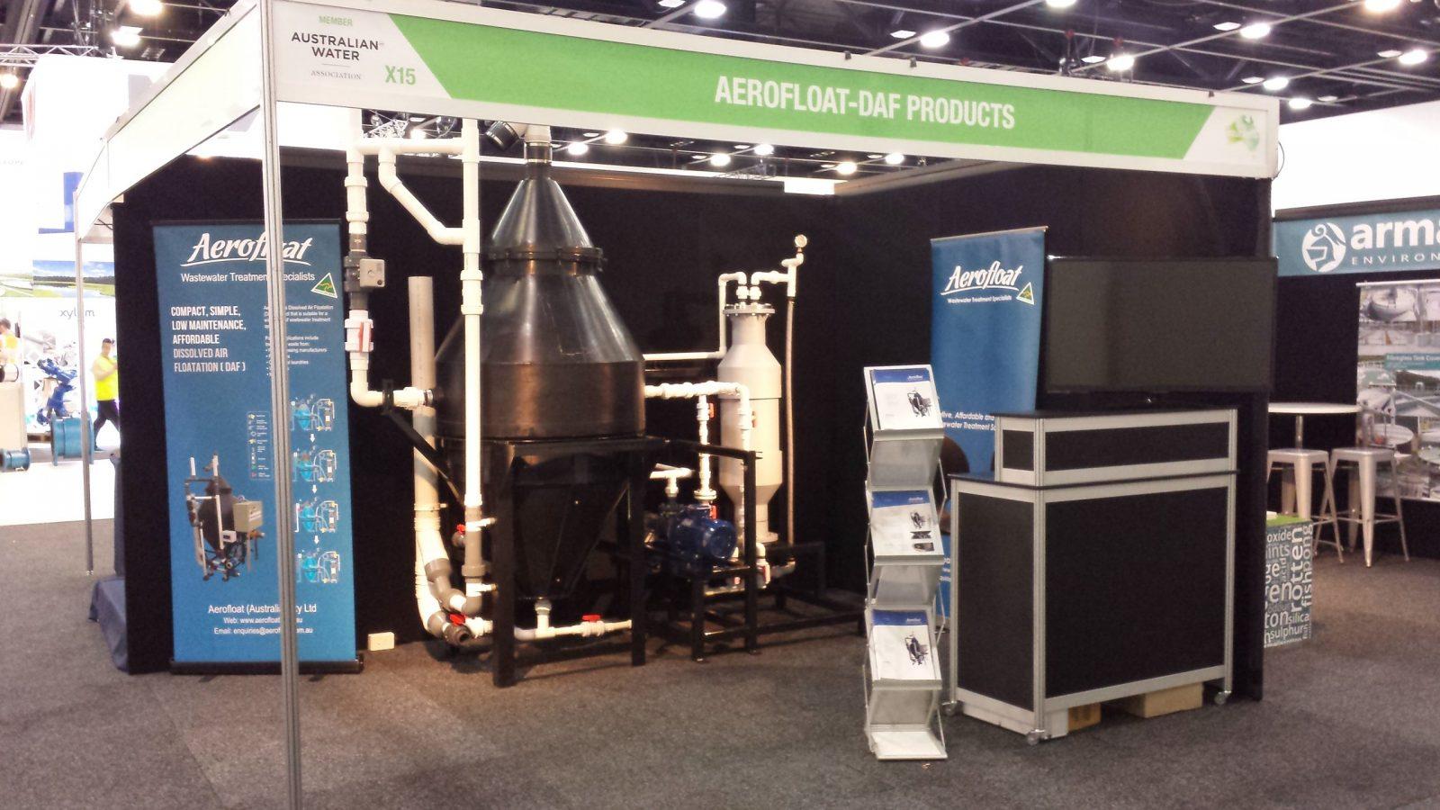 Aerofloat Event Stand Australian Water