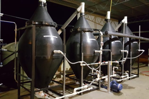 plastics recycling wastewater treatment dissolved air flotation