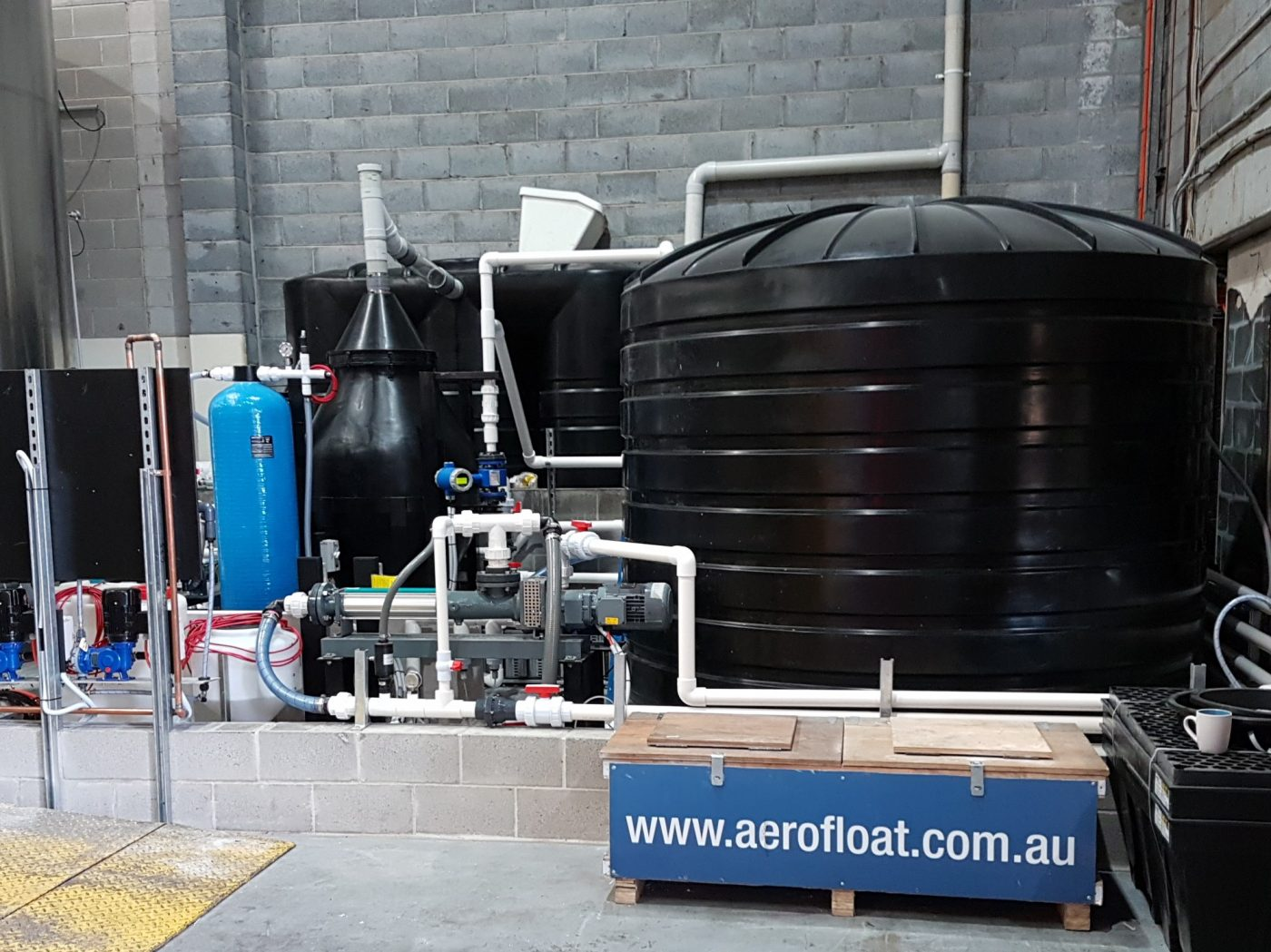 4 Pines Brewery Company Brewery Wastewater Treatment