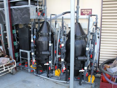 Dissolved Air Flotation Greywater Treatment