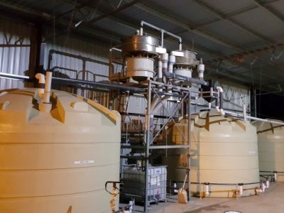 Moving Bed Biofilm Reactor plastics recycling wastewater treatment
