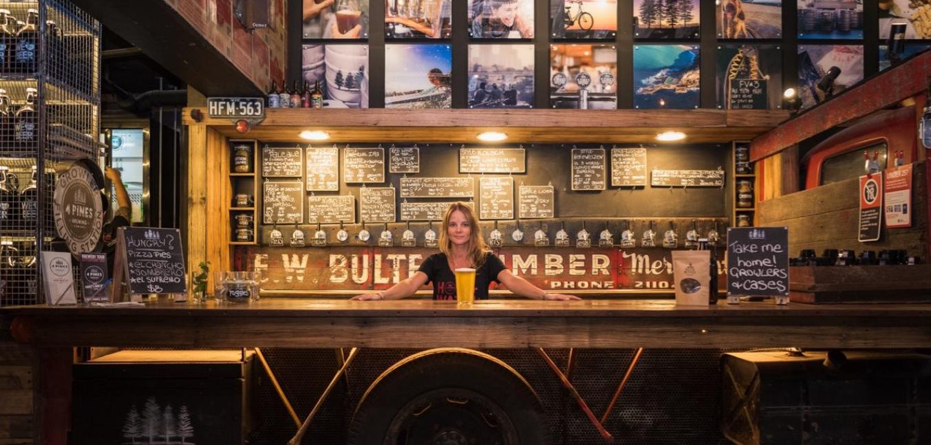 brewery wastewater sydney 4 pines