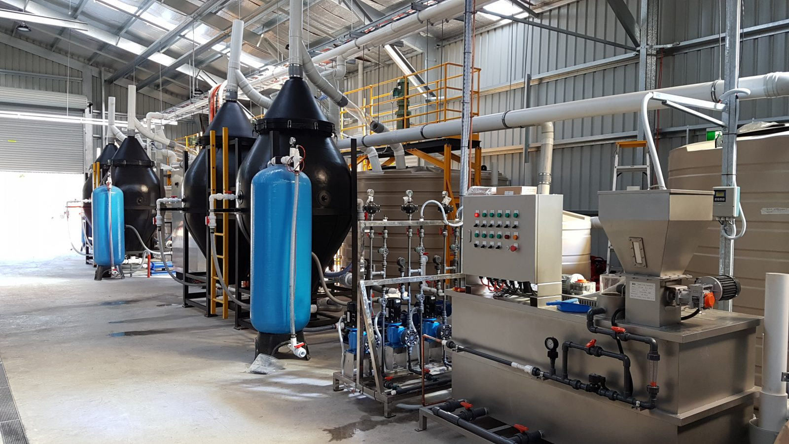 dairy wastewater treatment plant - Aerofloat