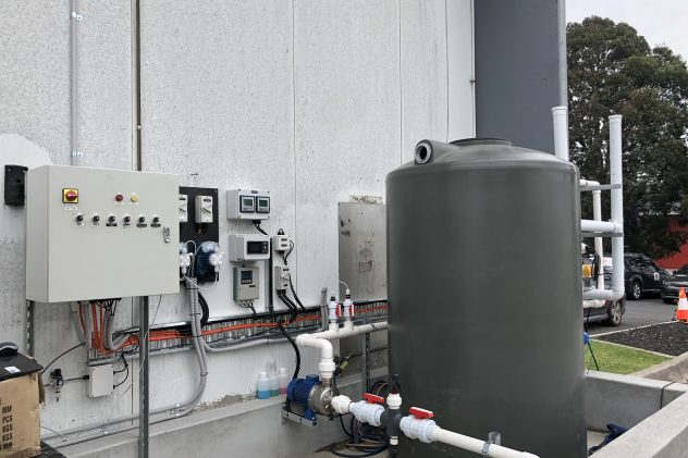 Fyna Foods Confectionery Wastewater Treatment pH Correction