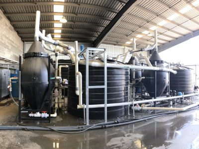 plastics recycling wastewater treatment plant