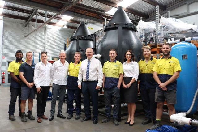 aerofloat wastewater treatment company scott morrison