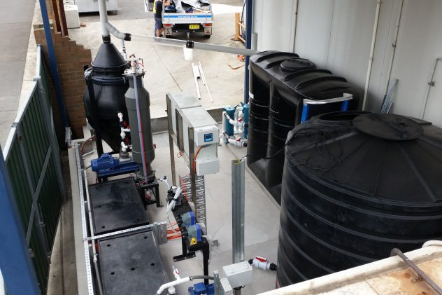 Italia Smallgoods processing wastewater - dissolved air flotation