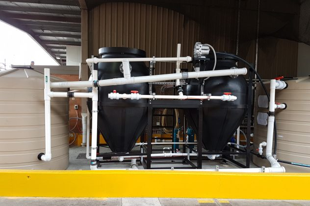 Goodman Fielder Grease Trap Food Wastewater Treatment