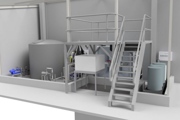 Specialised Chicken poultry processing wastewater treatment