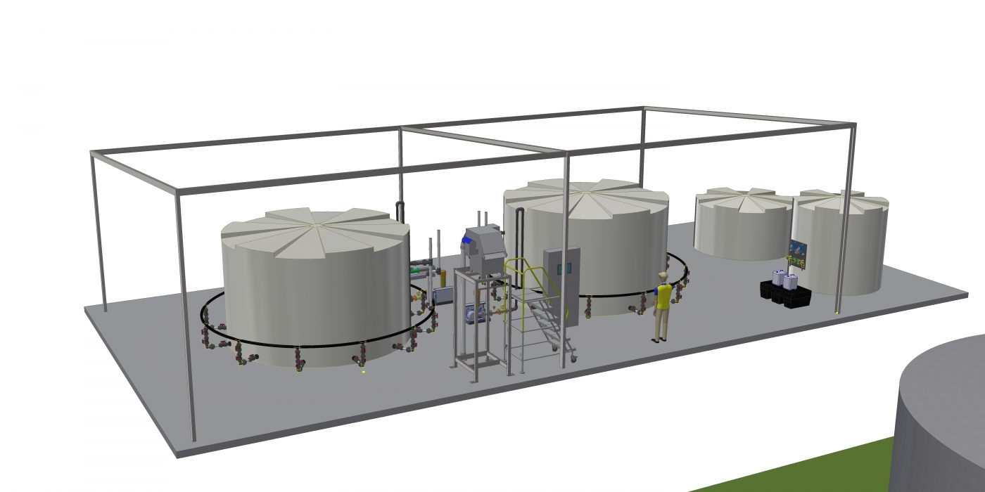 Cupitt's Estate Industrial Wastewater Treatment Sewage Treatment