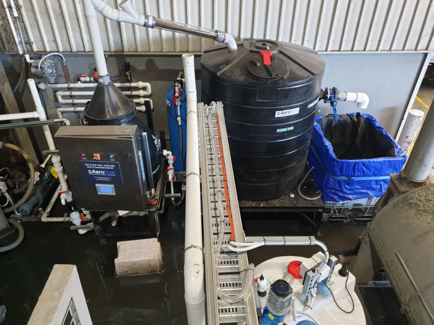 astron sustainability plastics recycling wastewater treatment