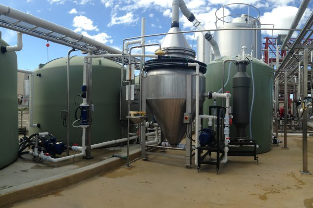 westlakes milk production wastewater treatment